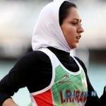 شگفتی فرزانه فصیحی دونده جوان سرعتی در صربستان