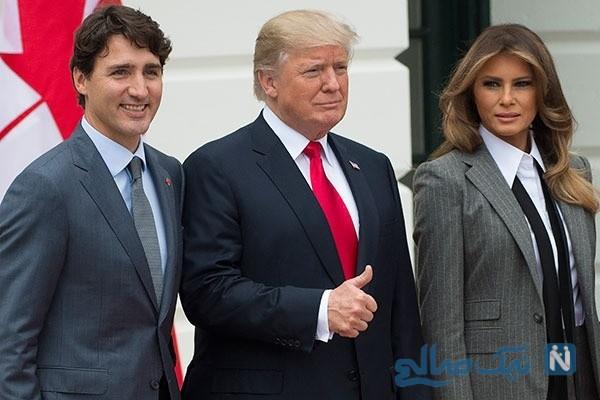 کت و شلوار ملانیا ترامپ