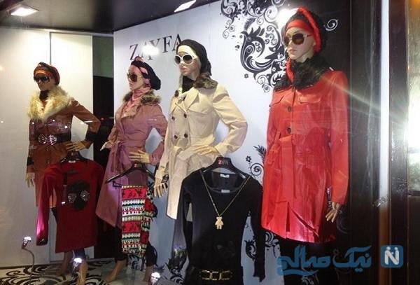 ماجرای جنجالی مانکن های انسانی در خیابان ولیعصر تهران