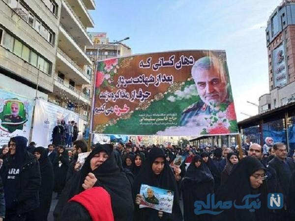 جزئیات مراسم تشییع سردار شهید سلیمانی در تهران بزرگ