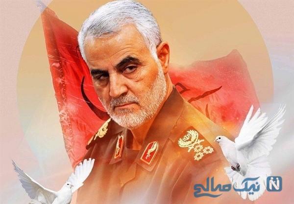 تصویر جدید از مزار شهید سلیمانی در گلزار شهدای کرمان