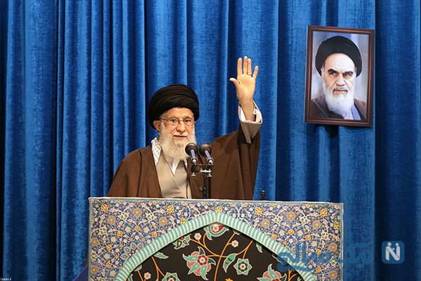نماز جمعه تهران به امامت حضرت آیت الله خامنهای رهبر معظم انقلاب اسلامی