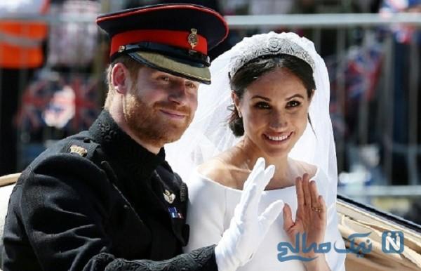 پرنس هری و مگان مارکل
