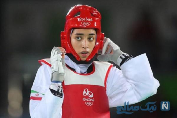 کیمیا علیزاده در المپیک