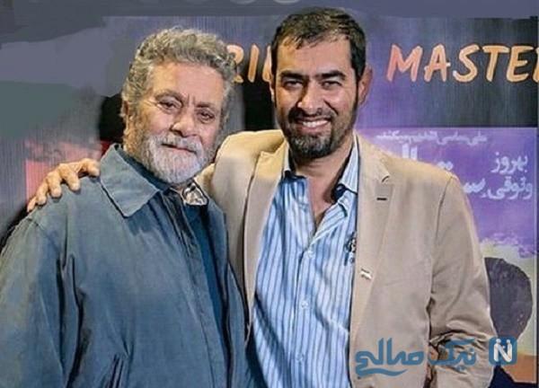 شهاب حسینی و بهروز وثوقی