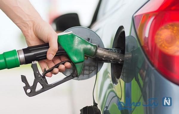 بنزین مخلوط با آب
