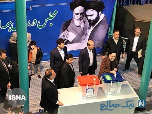رای دادن محمد خاتمی در انتخابات مجلس اسفند 98