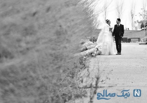 سالگرد ازدواج صباغ سرشت و مسعود آذری