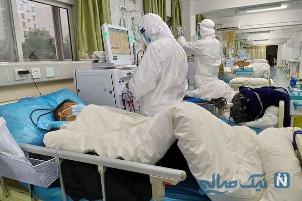 ویدیو وحشتناک از فرد مبتلا به عفونت کرونا ویروس در چین +۱۸