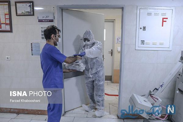 محل قرنطینه بیماران مبتلا به کرونا ویروس در تهران