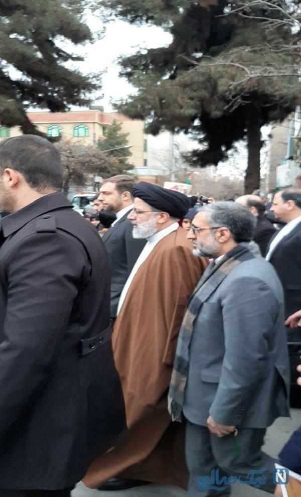چهره ها در راهپیمایی 22 بهمن