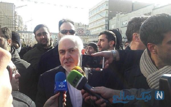 چهره های سیاسی و مهم در راهپیمایی ۲۲ بهمن