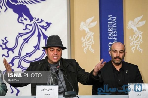 علت لباس های مشکی در روز اول جشنواره فیلم فجر