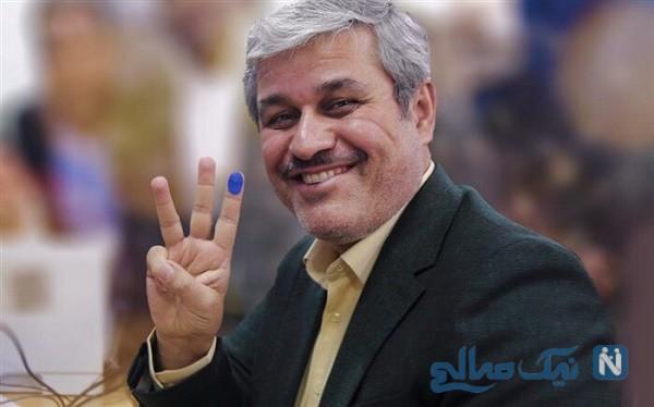 مراسم پرحاشیه ستاد انتخاباتی غلامرضا تاجگردون نماینده مجلس