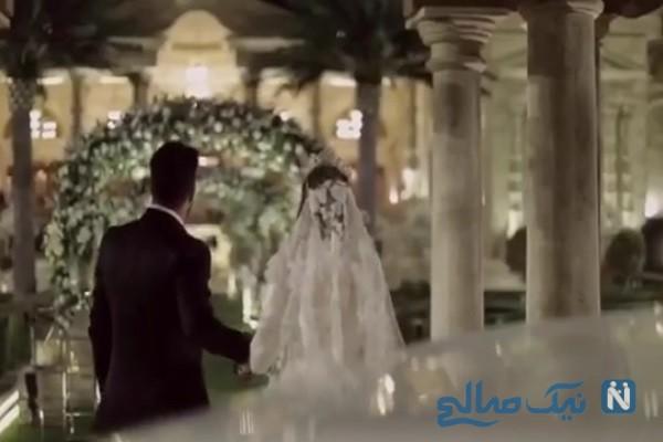 عمران زاده و همسرش
