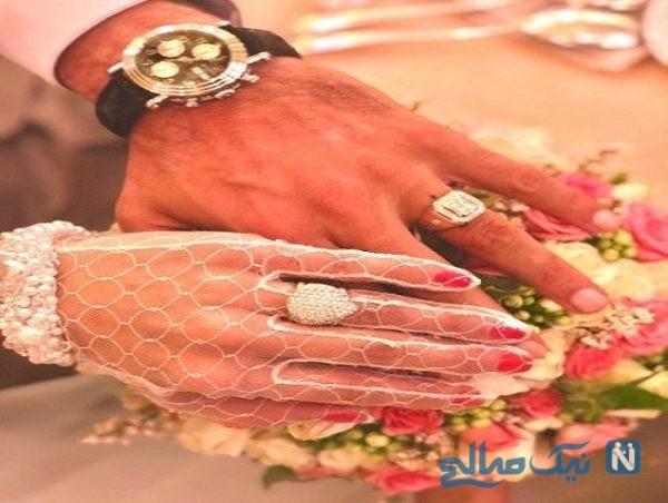 حنیف عمران زاده و همسرش ملیکا