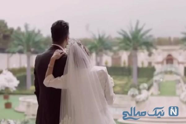 حنیف عمران زاده در کنار ملیکا صفایی
