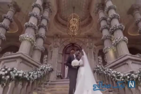 مراسم ازدواج لاکچری حنیف عمران زاده