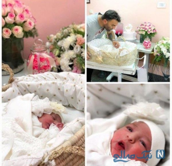 تولد دختر حنیف عمران زاذه
