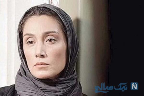 هدیه تهرانی با گریمی متفاوت در نمایش خانگی «همگناه»