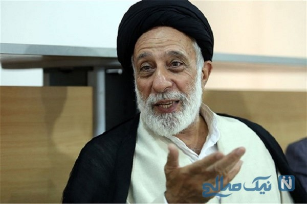 حجت الاسلام هادی خامنه ای برادر رهبر انقلاب در راهپیمایی