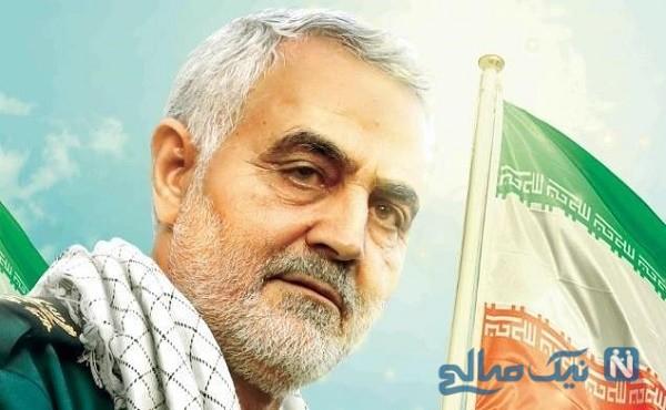 عروس و داماد ایرانی بر سر مزار شهید سلیمانی