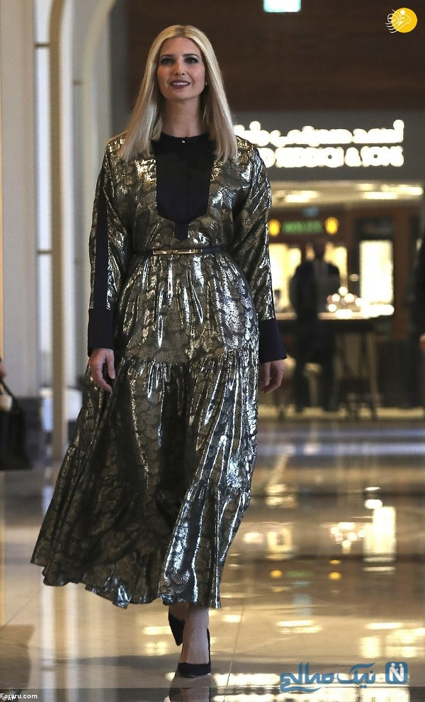 حجاب ایوانکا ترامپ