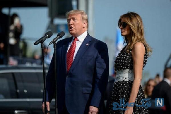 ترامپ و همسرش ملانیا