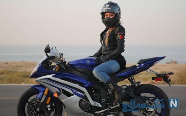 زنان موتورسوار در ایران