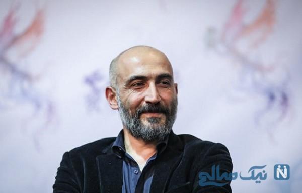 حادثه برای هادی حجازی فر سر صحنه فیلم آتابای نیکی کریمی