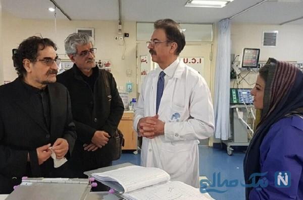 استاد شجریان در بیمارستان