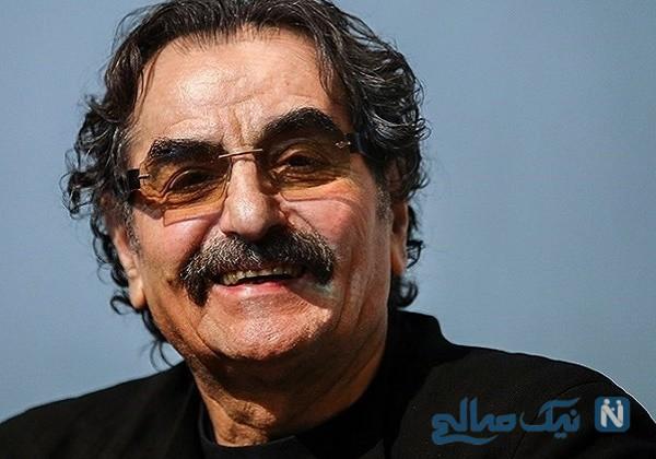 عیادت شهرام ناظری خواننده معروف از استاد شجریان در بیمارستان