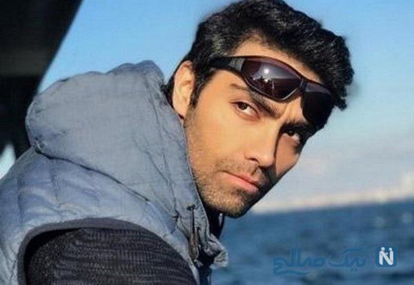 ماشین شهاب شادابی بازیگر مشهور , شیک و لاکچری ببینید