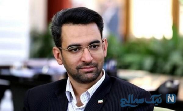 سوتی وزیر ارتباطات در انتشار تصویر لباس فضانوردان ایرانی!
