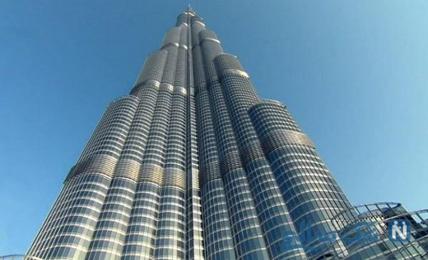 واکنش برج خلیفه بلندترین ساختمان جهان به ویروس کرونا