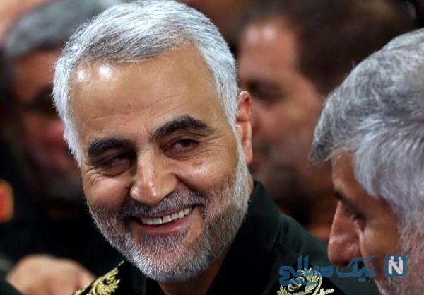 تصویر جدیدی که زینب از مزار حاج قاسم سلیمانی پدرش منتشر کرد