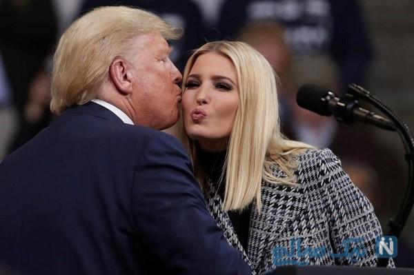 ترامپ و دخترش