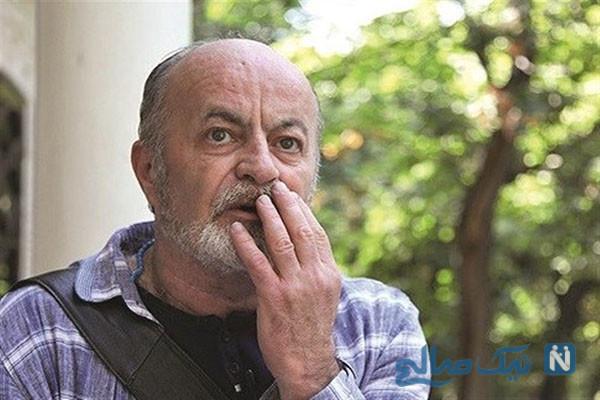 بهروز بقایی بازیگر معروف ایرانی کرونا گرفت