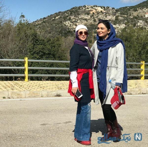 دونفره با الناز حبیبی و لیندا کیانی