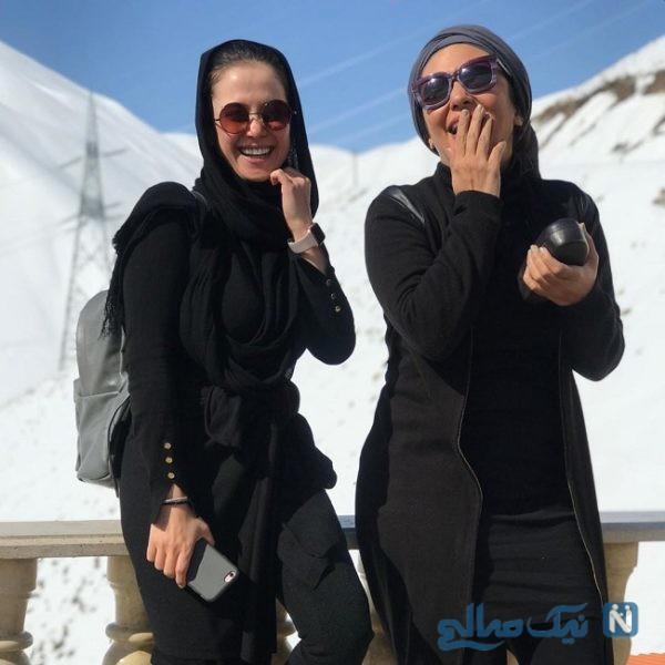 الناز حبیبی و لیندا کیانی