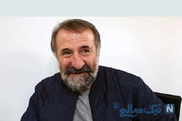 مهران رجبی بازیگر تلویزیون به مناسبت روز پدر در بیمارستان کرونایی ها