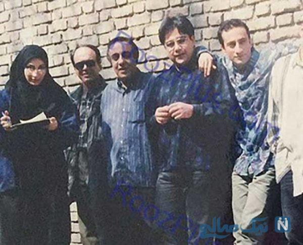 عکسی از زنده یاد ابوالحسنی در کنار همشهریش مرحوم عارف لرستانی