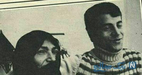 علی پروین و مادرش