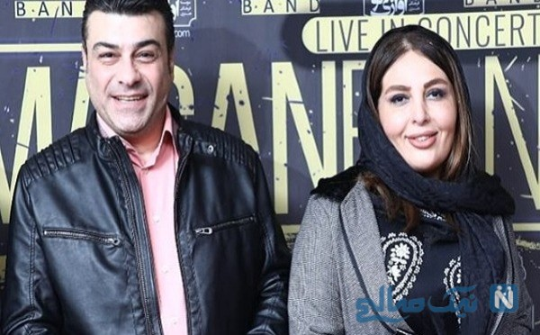 علیرضا عسکریان و همسرش