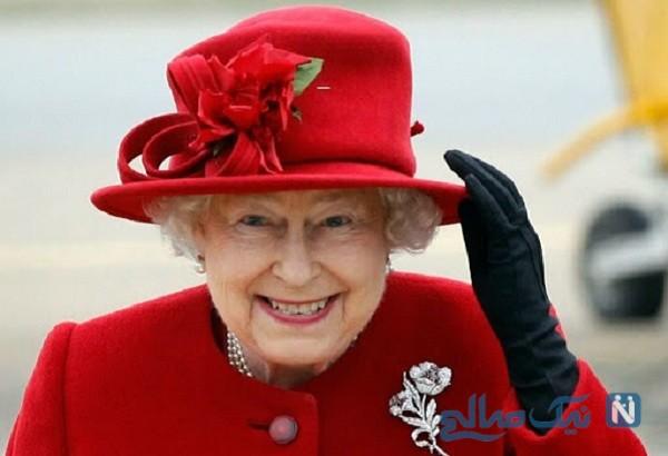 فرار الیزابت ملکه انگلیس از مرگ کرونایی به یک قلعه
