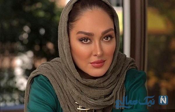سفره هفت سین زیبا و متفاوت الهام حمیدی در نوروز ۹۹