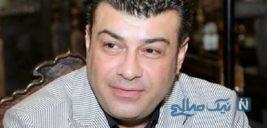 علیرضا عسکریان مجری معروف همراه همسر و فرزندانش