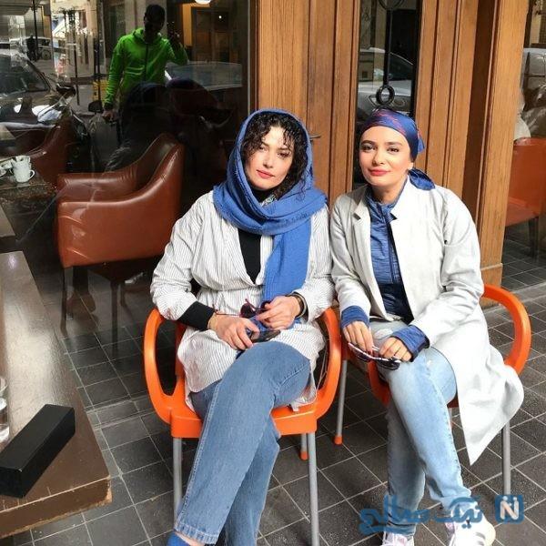 تیپ جدید لیندا کیانی و لادن مستوفی
