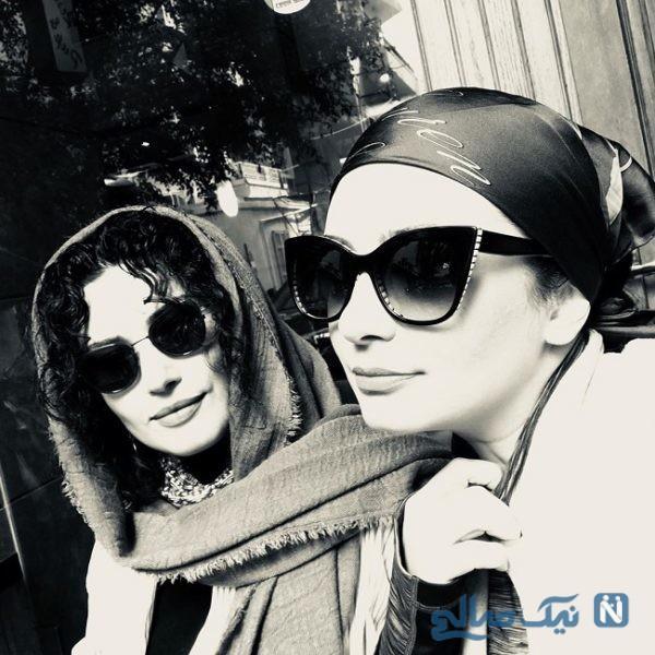 عکس های دو نفره و خاص لیندا کیانی و لادن مستوفی دو بازیگر سینما