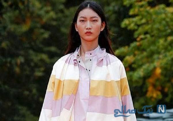 لباس های پوشیده و متفاوت مدل ها در هفته مد لندن